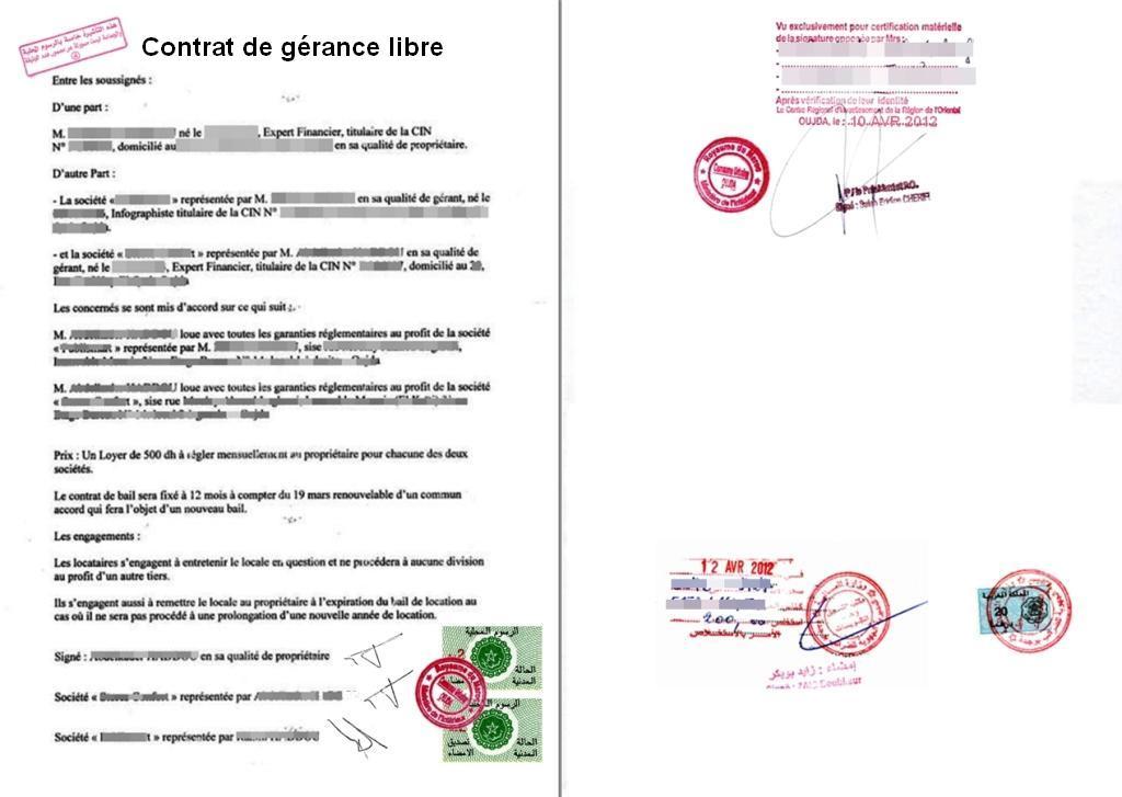 modele bail location gerance document online. Black Bedroom Furniture Sets. Home Design Ideas
