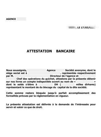 Attestation Situation Caf