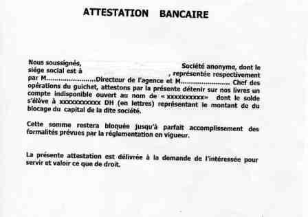Attestation Bancaire Pour La Caf